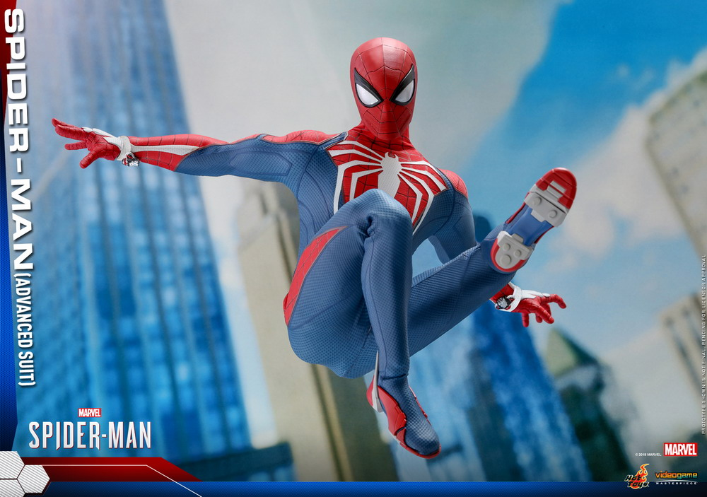 Hot Toys - Marvel Spider-Man - Spider-Man (Advanced Suit) collectible figure_PR10