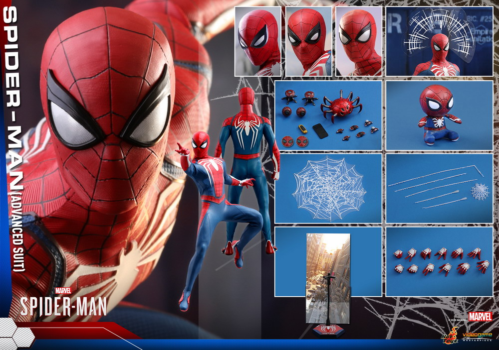 Hot Toys - Marvel Spider-Man - Spider-Man (Advanced Suit) collectible figure_PR15