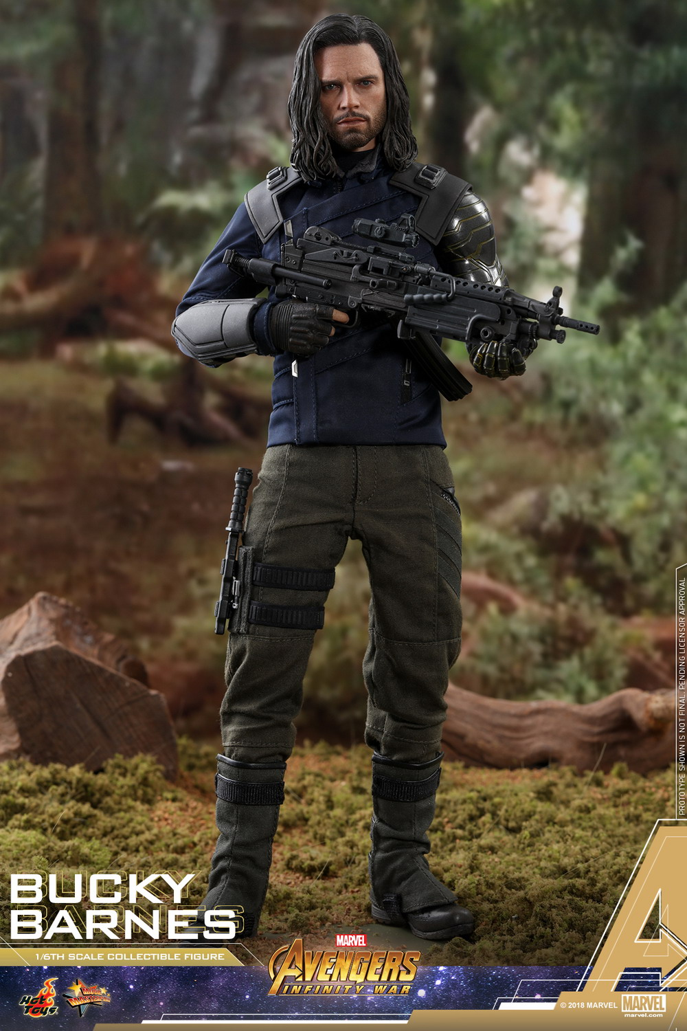 Hot Toys - AIW - Bucky Barnes collectible figure_PR1