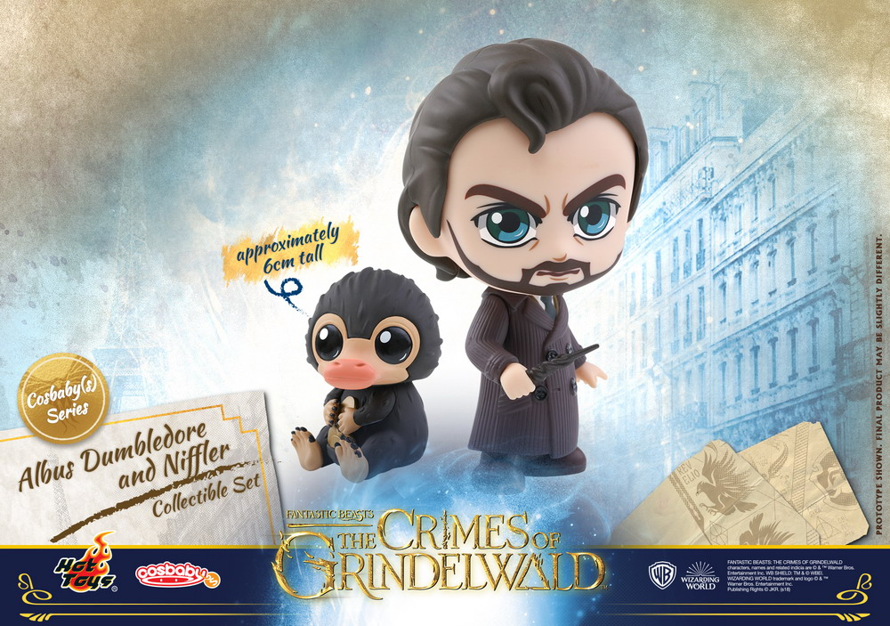Hot Toys - Fantastic Beasts 2 - Albus Dumbledore and Niffler Cosbaby (S) Collectible Set_PR1