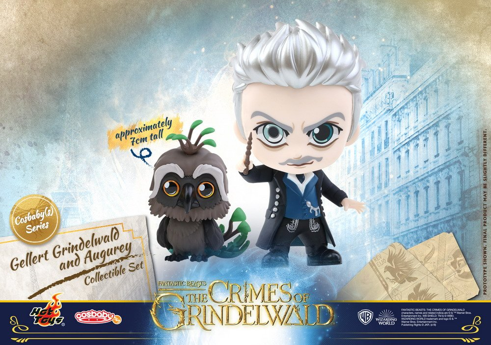 Hot Toys - Fantastic Beasts 2 - Gellert Grindelwald and Augurey Cosbaby (S) Collectible Set_PR1