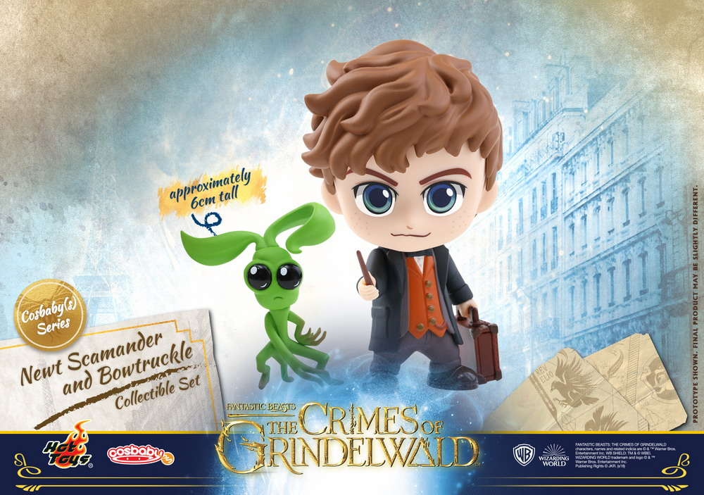 Hot Toys - Fantastic Beasts 2 - Newt Scamander and Bowtruckle Cosbaby (S)Collectible Set_PR1