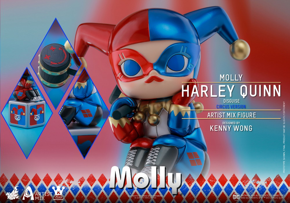 Hot Toys - Molly (Harley Quinn Disguise) Circus Version Artist Mix Figure designed by Kenny Wong_PR10