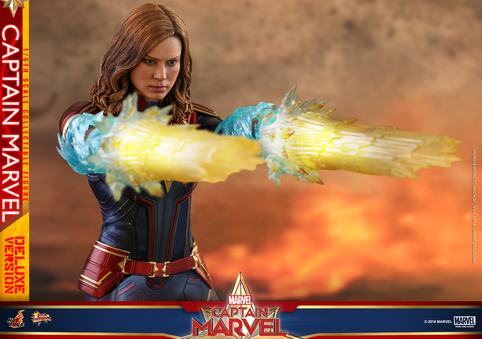 Hot Toys - Captain Marvel - Captain Marvel collectible figure (Deluxe)_PR20