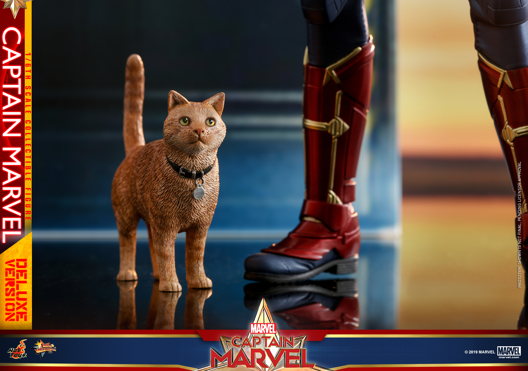 Hot Toys - Captain Marvel - Captain Marvel collectible figure (Deluxe)_PR22