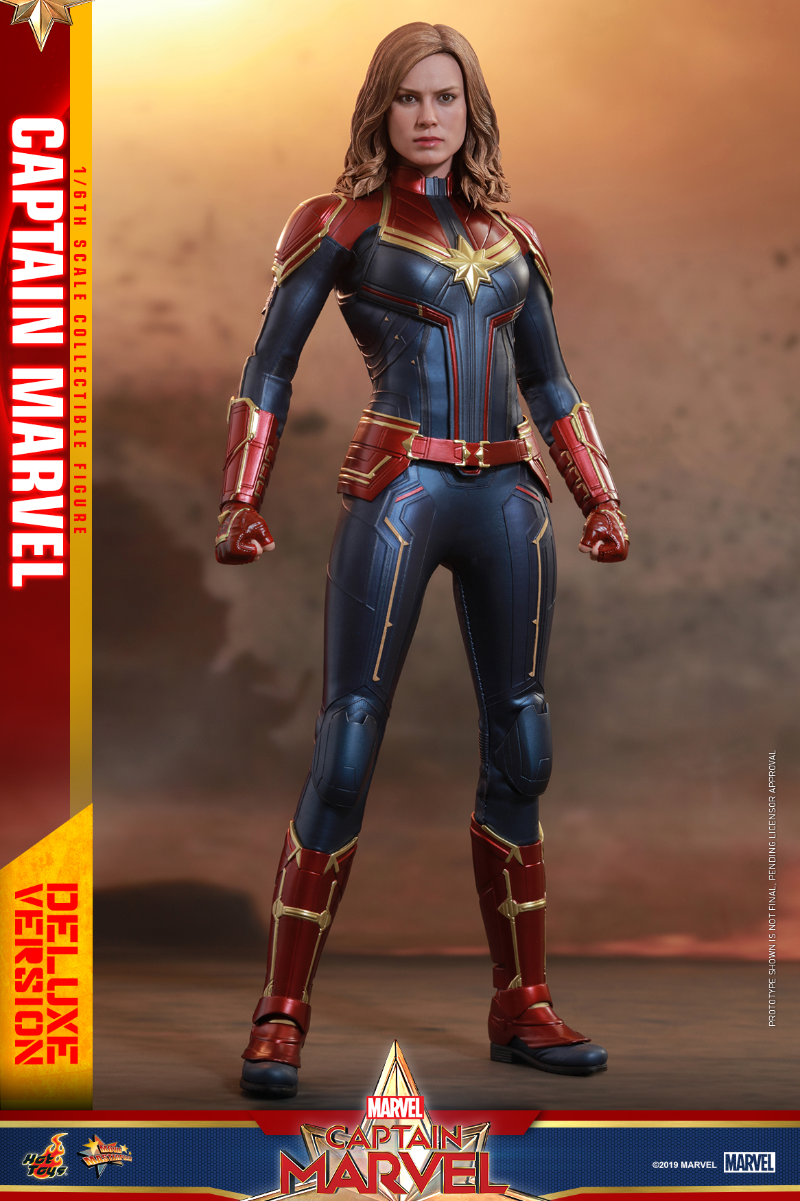 Hot Toys - Captain Marvel - Captain Marvel collectible figure (Deluxe)_PR4