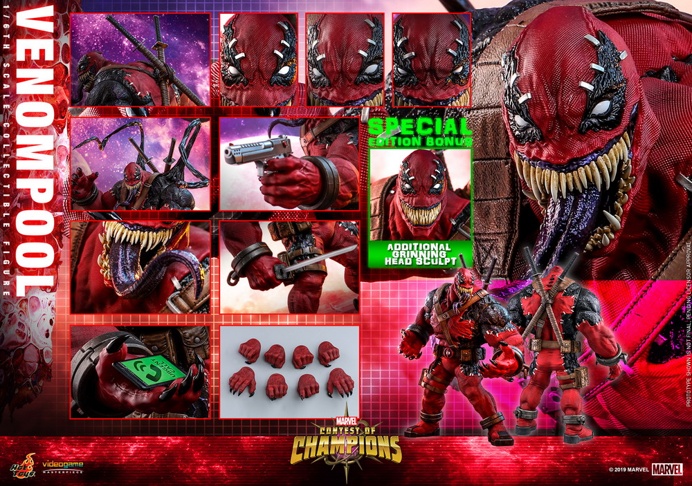 Hot Toys - Contest of Champion - Venompool collectible figure_PR23 (Special)