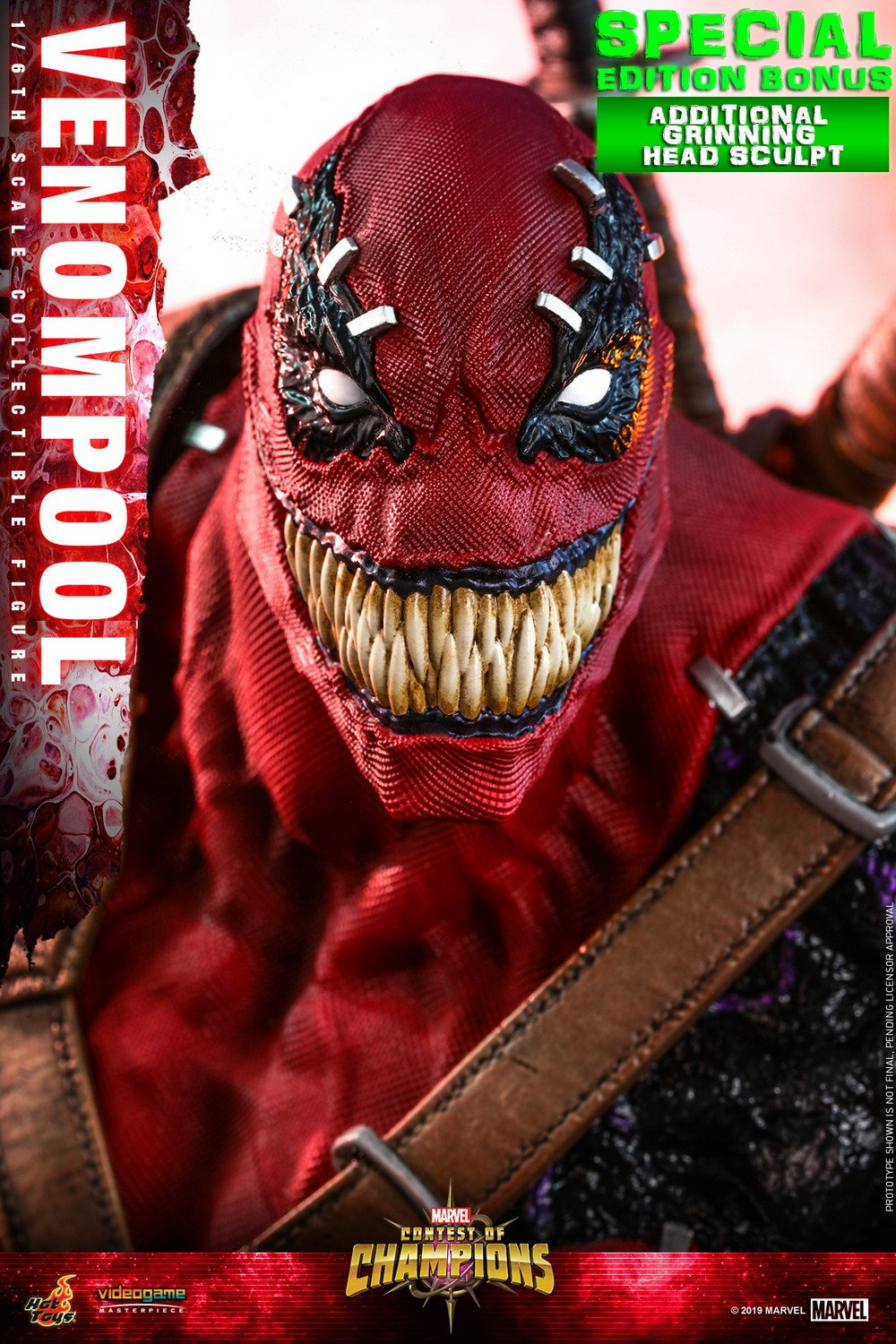 Hot Toys - Contest of Champion - Venompool collectible figure_PR24 (Special)