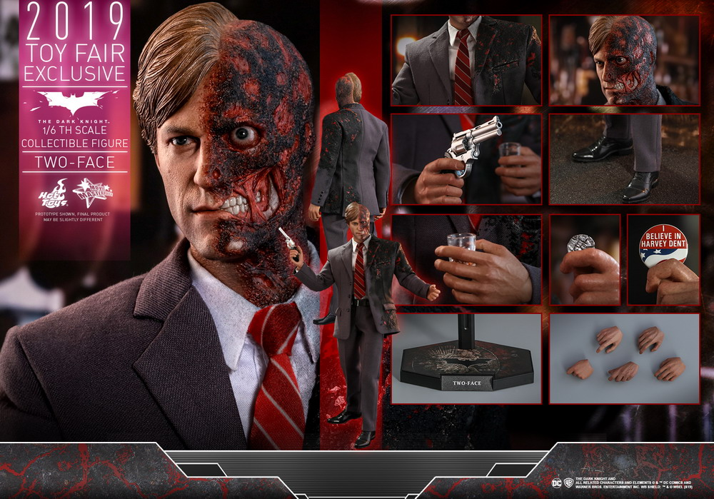 Hot Toys - TDK - Two-Face collectible figure_PR17