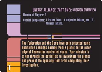 Uneasy Alliance Mission Part 1 Card 1