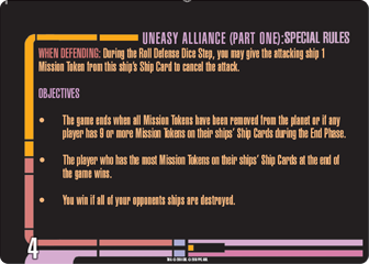 Uneasy Alliance Mission Part 1 Card 4