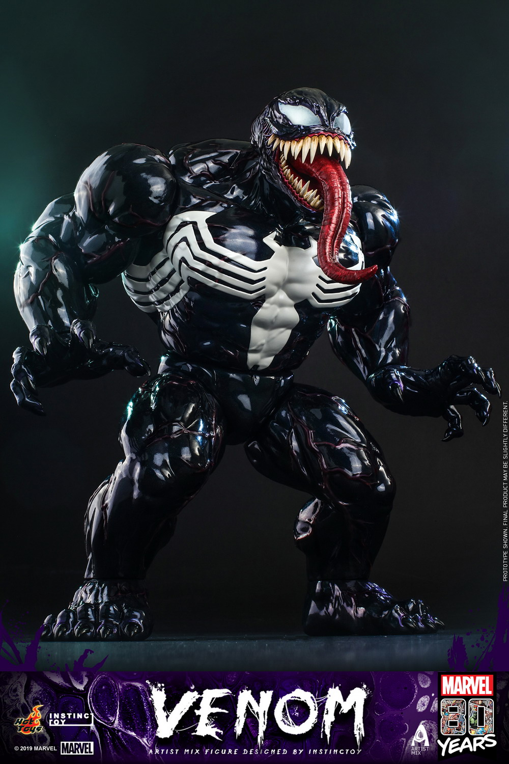Hot Toys - Marvel 80 Years Venom Artist Mix Designed by INSTINCTOY_PR10