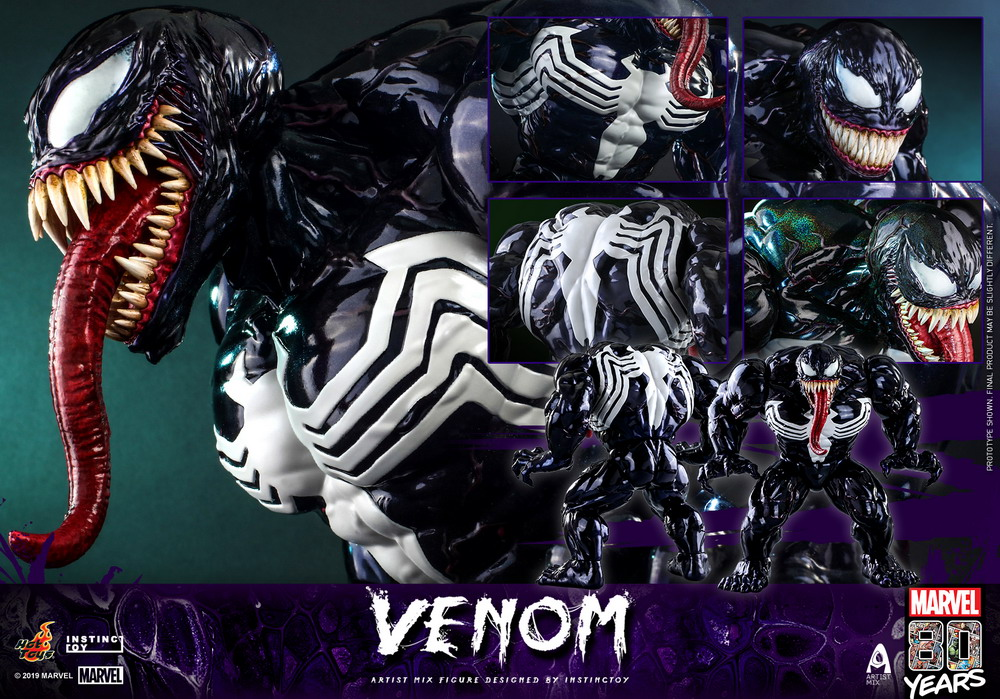 Hot Toys - Marvel 80 Years Venom Artist Mix Designed by INSTINCTOY_PR15
