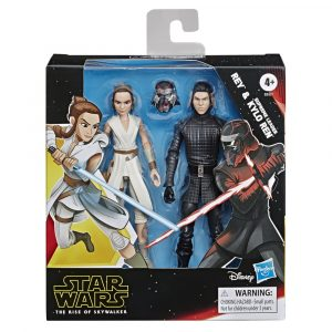 STAR WARS GALAXY OF ADVENTURES 5-INCH REY AND SUPREME LEADER KYLO REN 2-PACK - in pck