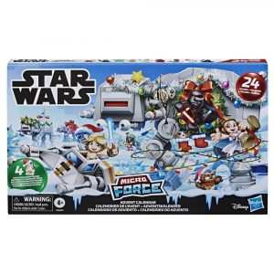 STAR WARS MICRO FORCE ADVENT CALENDAR - pckging