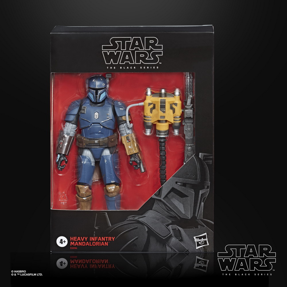 STAR WARS THE BLACK SERIES 6-INCH HEAVY INFANTRY MANDALORIAN Figure - in pck