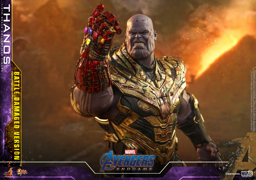 Hot Toys - A4 - Thanos (Battle Damaged Version) Collectible Figure_PR17