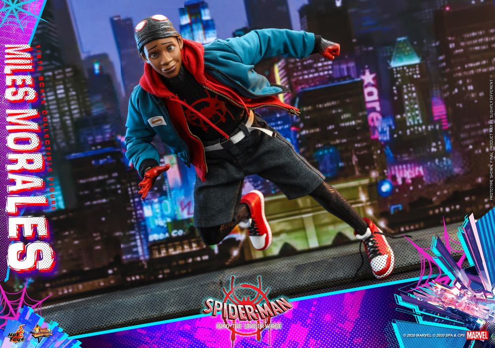 Hot Toys - Spider-Man into the Spider Verse - Miles Morales collectible figure_PR18