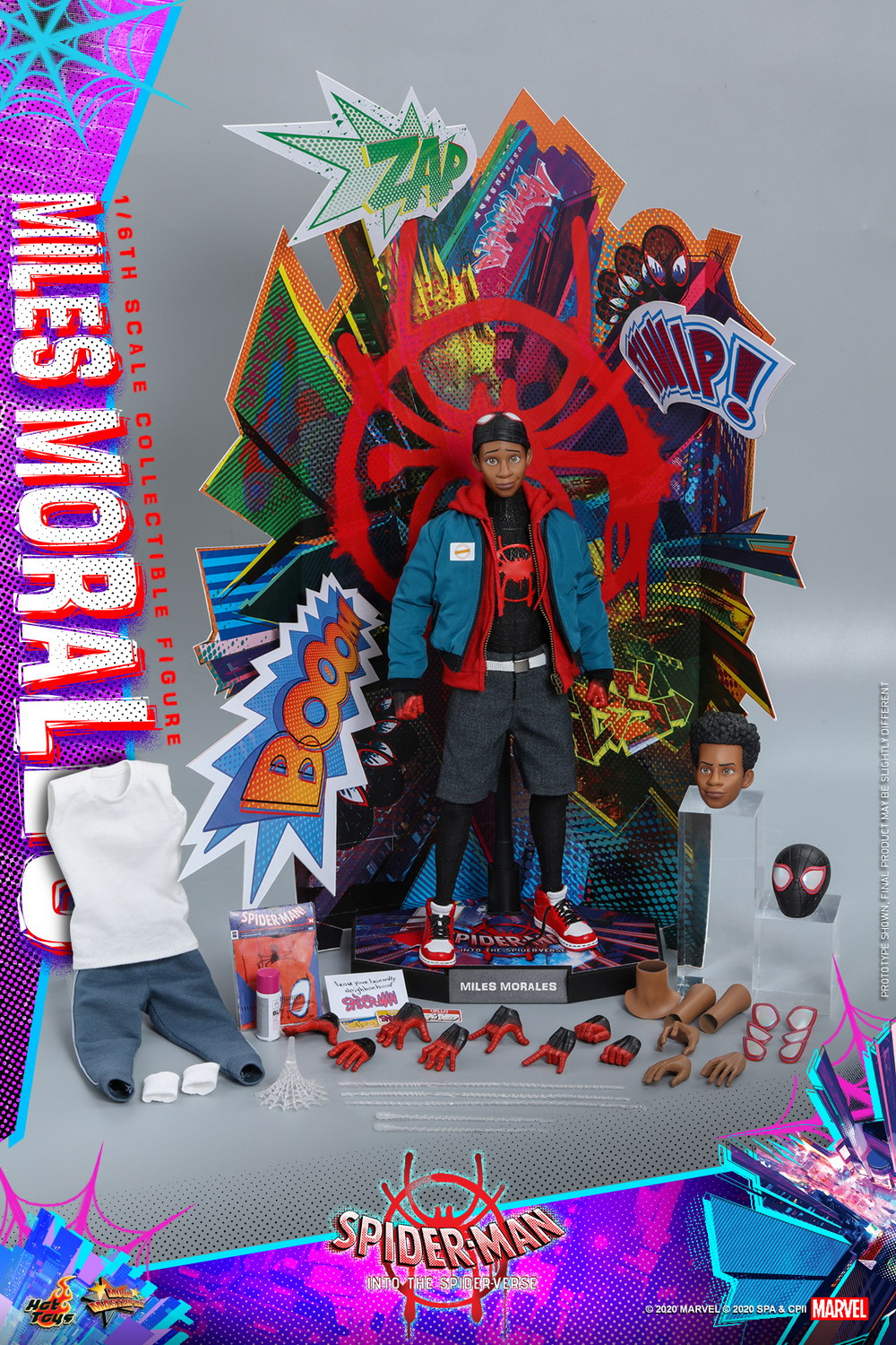 Hot Toys - Spider-Man into the Spider Verse - Miles Morales collectible figure_PR27