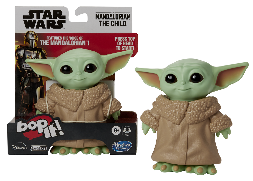 BOP IT! STAR WARS THE MANDALORIAN THE CHILD EDITION - white bckgrnd in pck (2)