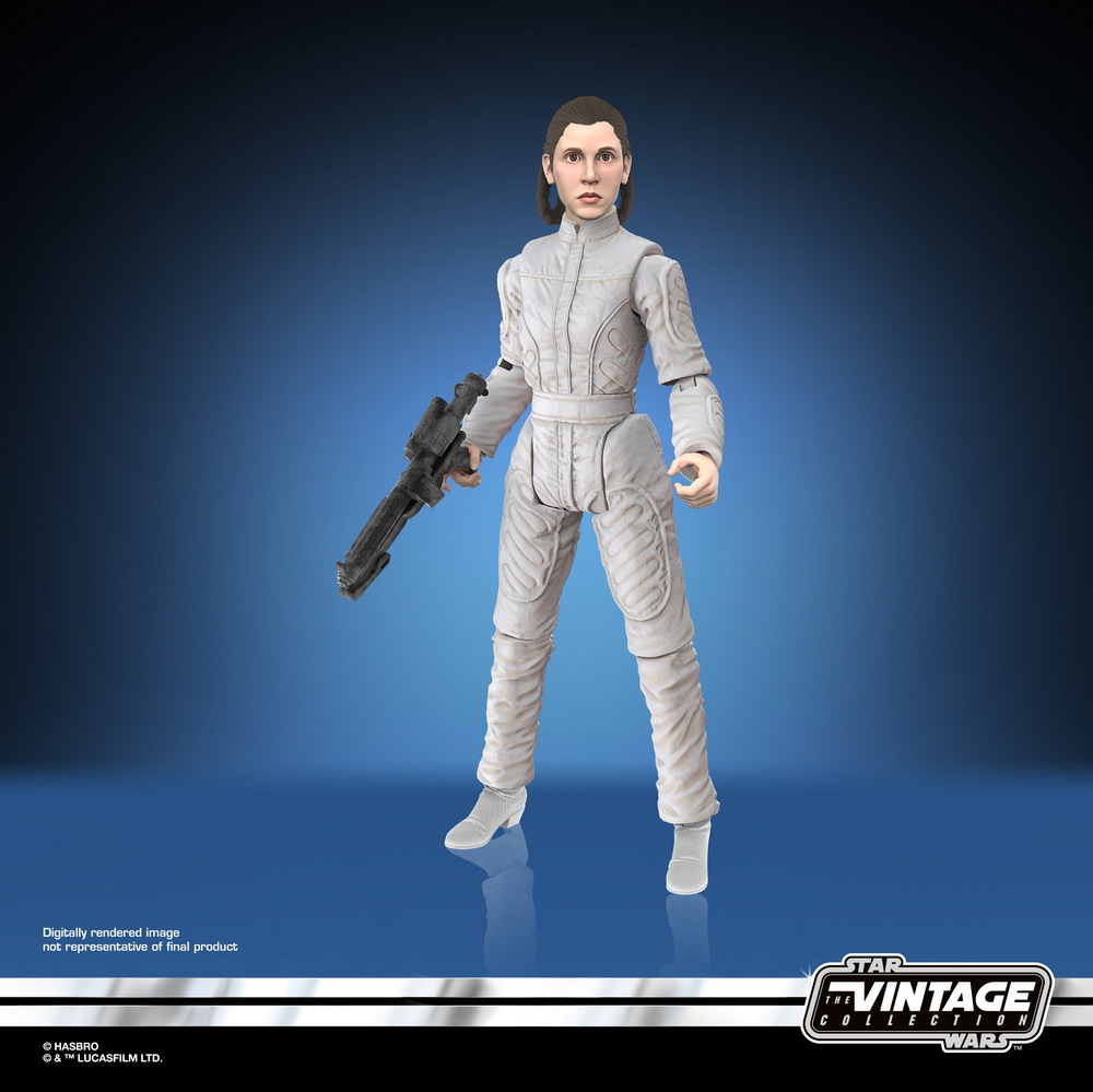 STAR WARS THE VINTAGE COLLECTION 3.75-INCH PRINCESS LEIA ORGANA (BESPIN ESCAPE) Figure - digital oop (1)