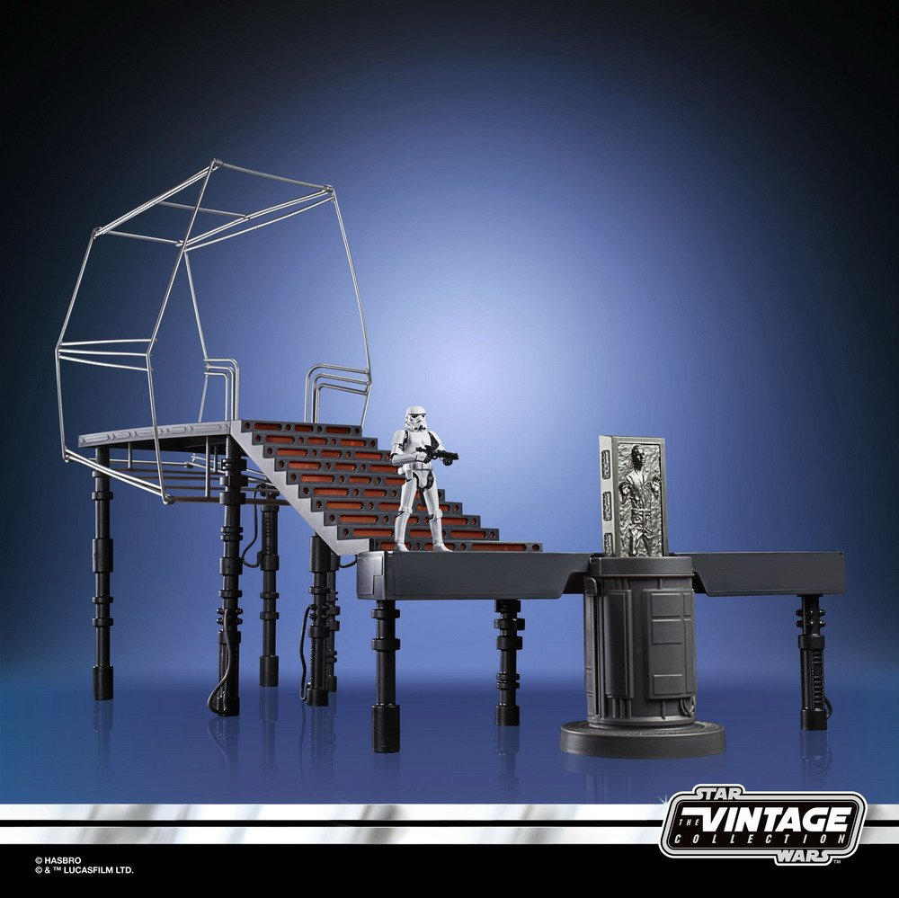 STAR WARS THE VINTAGE COLLECTION CARBON-FREEZING CHAMBER Playset - oop (6)