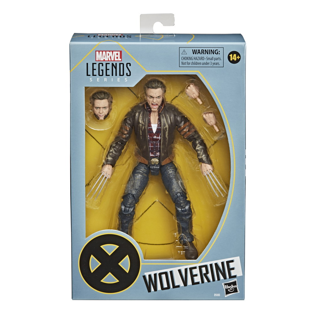 MARVEL LEGENDS SERIES X-MEN 20TH ANNIVERSARY 6-INCH WOLVERINE Figure - in pck (2)