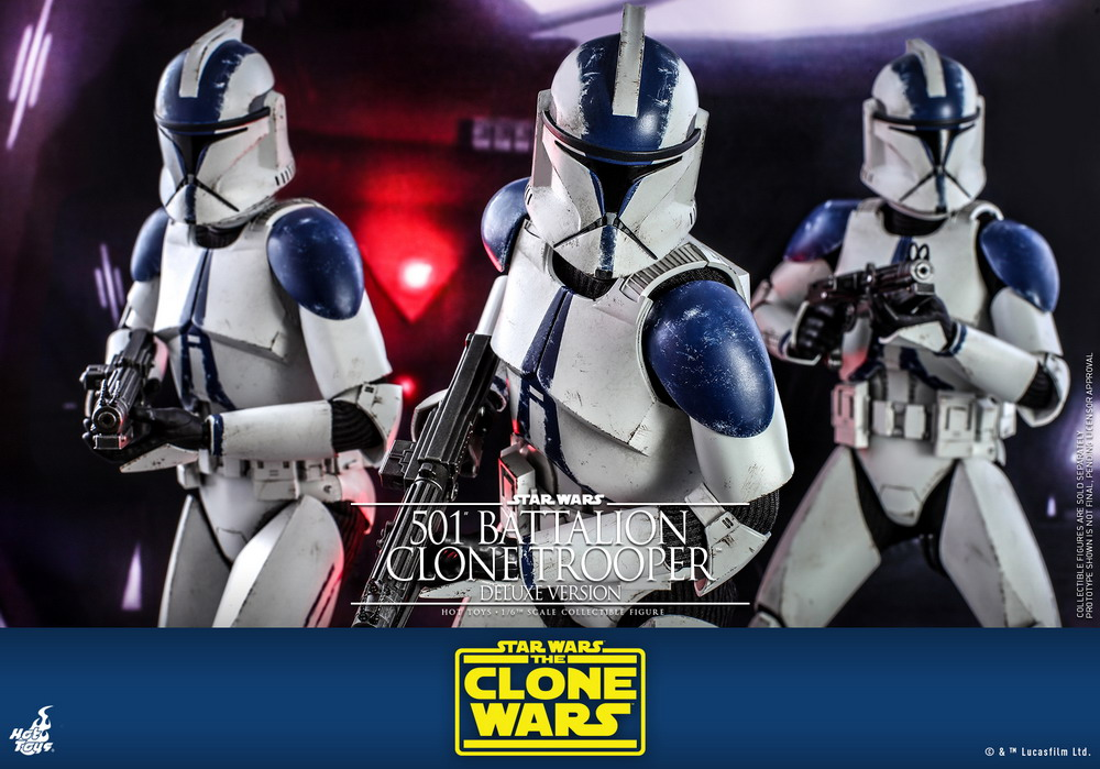 Hot Toys - SWCW - 501 Battalion Clone Trooper collectible figure (Deluxe)_PR11