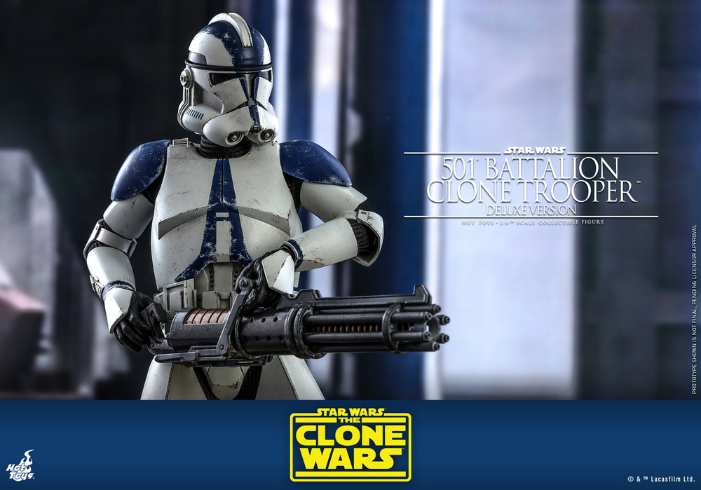 Hot Toys - SWCW - 501 Battalion Clone Trooper collectible figure (Deluxe)_PR13