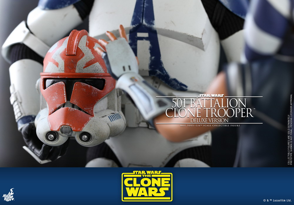 Hot Toys - SWCW - 501 Battalion Clone Trooper collectible figure (Deluxe)_PR17