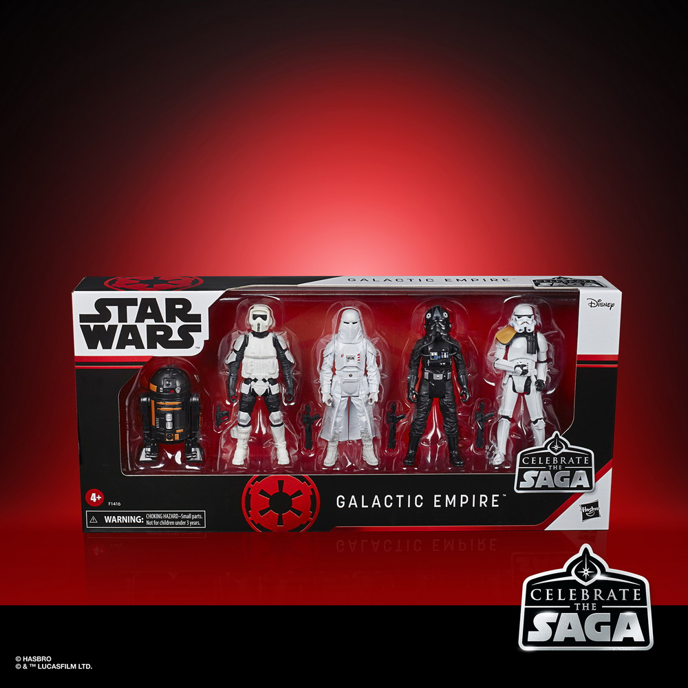 STAR WARS CELEBRATE THE SAGA 3.75-INCH GALACTIC EMPIRE Figure 5-Pack - in pck