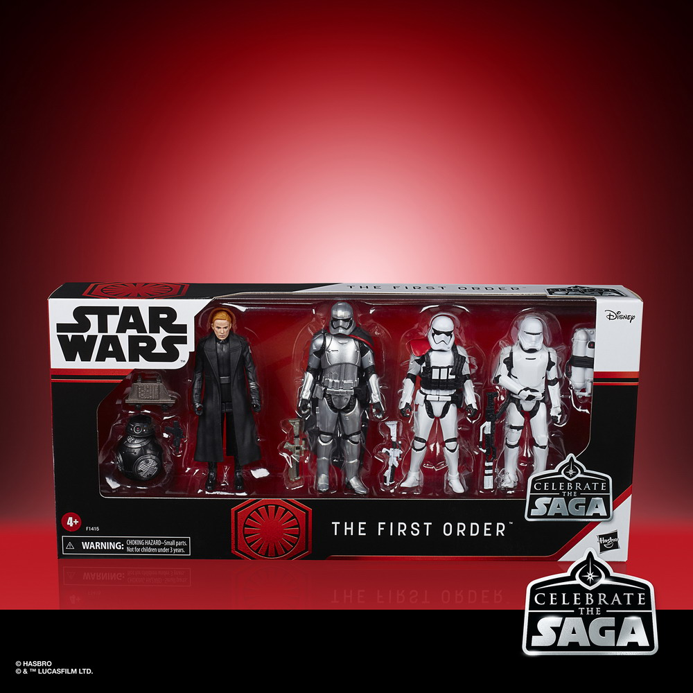 STAR WARS CELEBRATE THE SAGA 3.75-INCH THE FIRST ORDER Figure 6-Pack - in pck