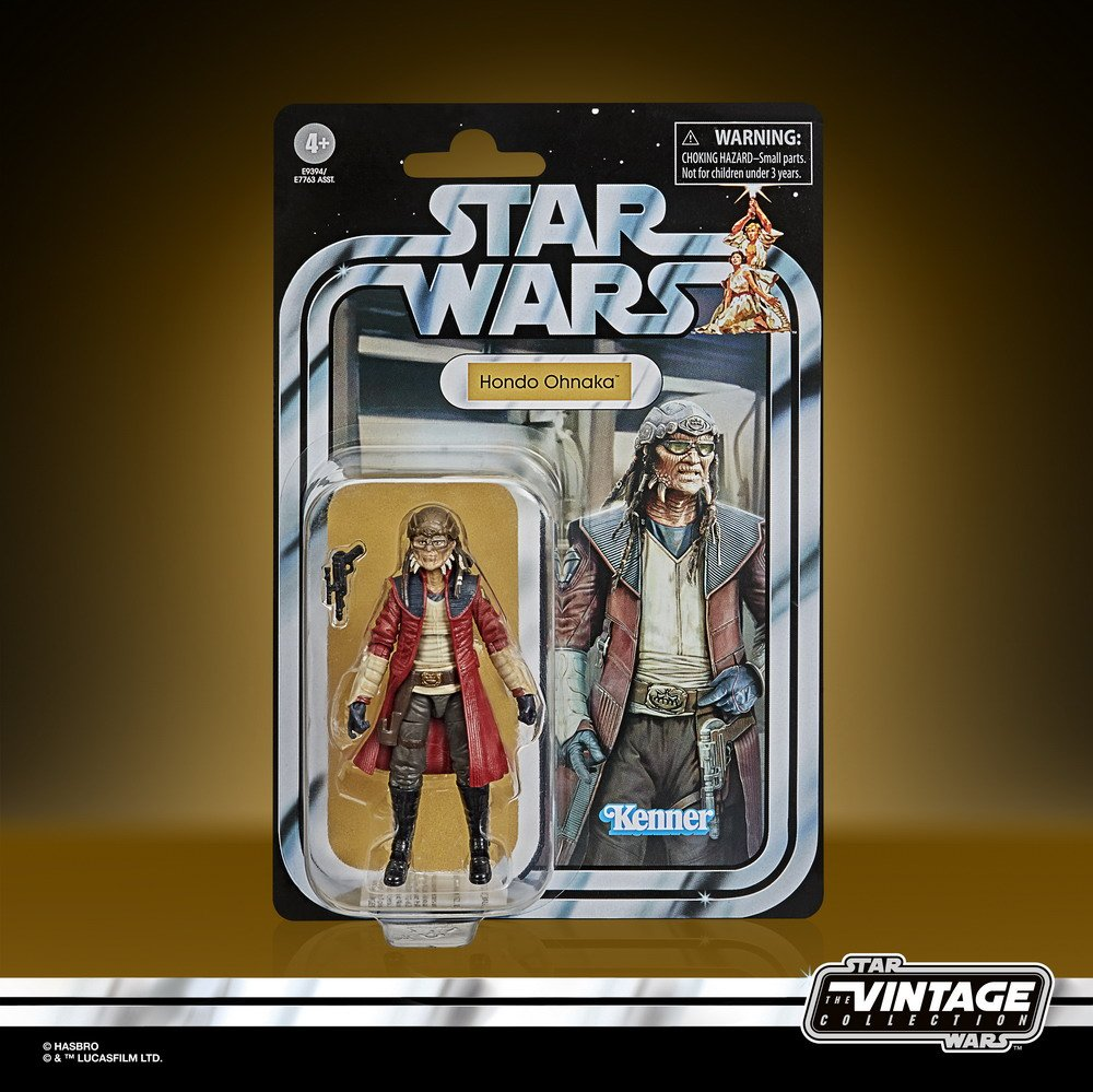 STAR WARS THE VINTAGE COLLECTION 3.75-INCH HONDO OHNAKA Figure - in pck