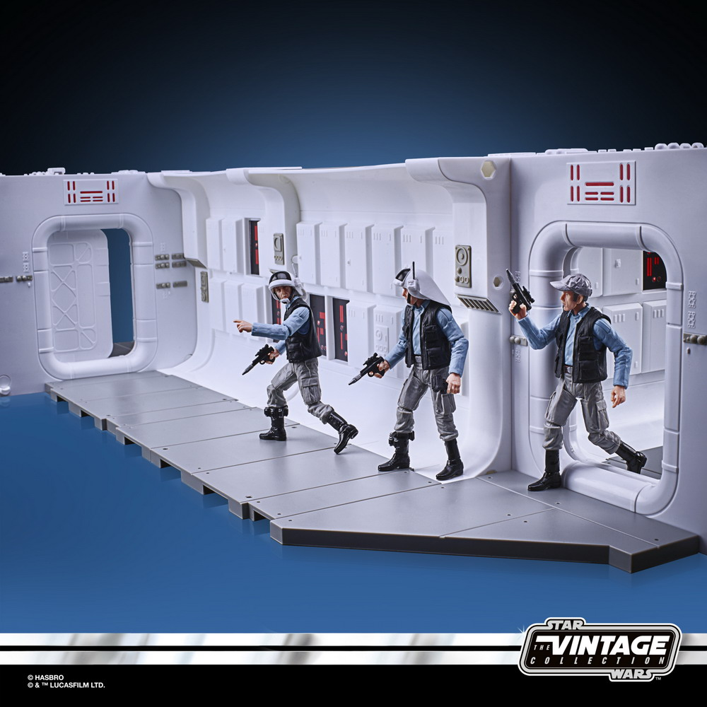 STAR WARS THE VINTAGE COLLECTION 3.75-INCH TANTIVE IV HALLWAY Playset - oop (23)