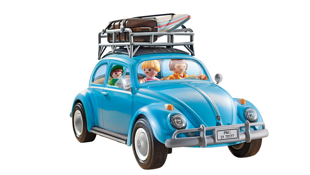 PLAYMOBIL Volkswagen Beetle (White Background) 70177