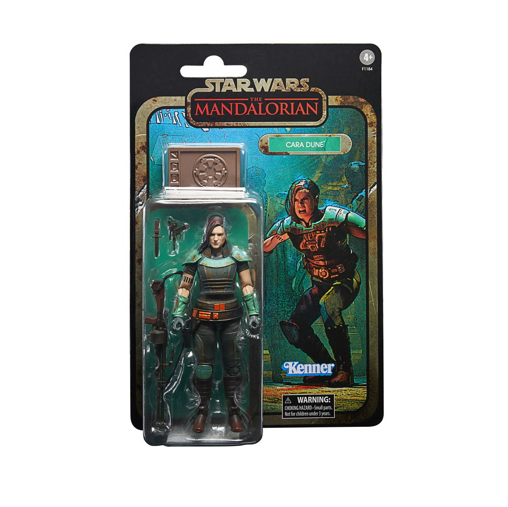 STAR WARS THE BLACK SERIES CREDIT COLLECTION 6-INCH CARA DUNE Figure - inpck 2