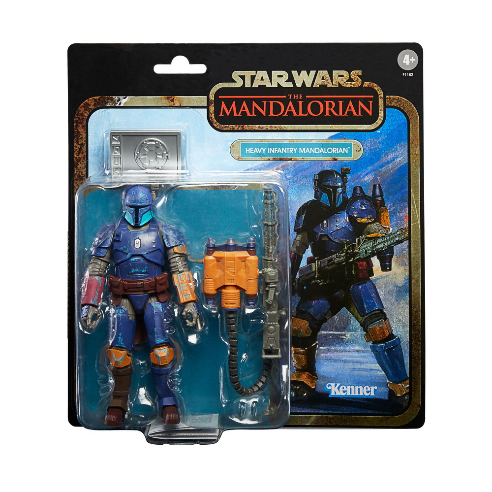 STAR WARS THE BLACK SERIES CREDIT COLLECTION 6-INCH HEAVY INFANTRY Figure - inpck2