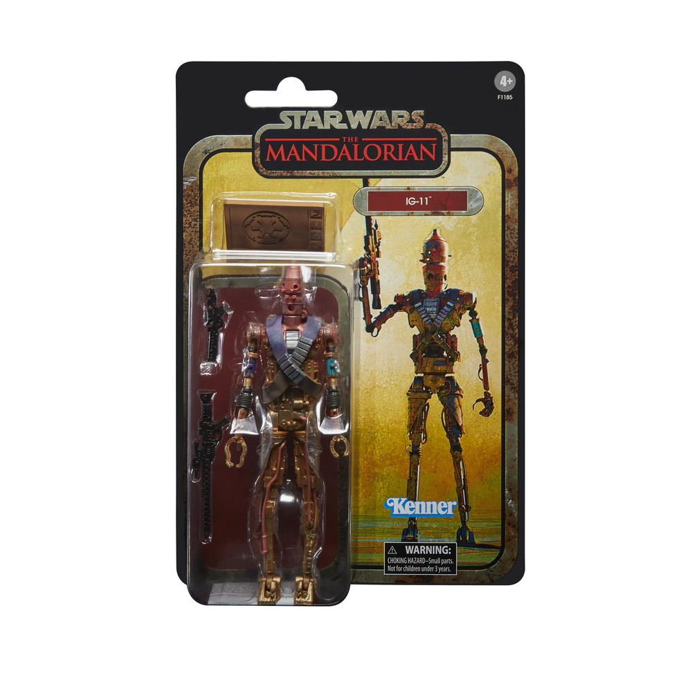 STAR WARS THE BLACK SERIES CREDIT COLLECTION 6-INCH IG-11 Figure - in pck 2