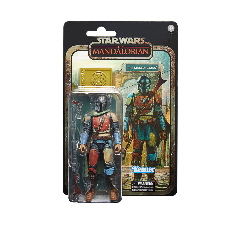 STAR WARS THE BLACK SERIES CREDIT COLLECTION 6-INCH THE MANDALORIAN Figure - inpck 2