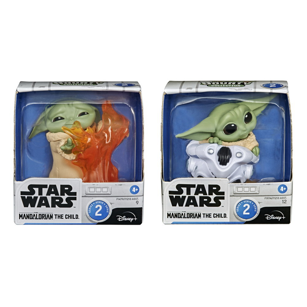 STAR WARS THE BOUNTY COLLECTION SERIES 2, THE CHILD 2.2-inch Collectibles, 2-Packs in pck 2