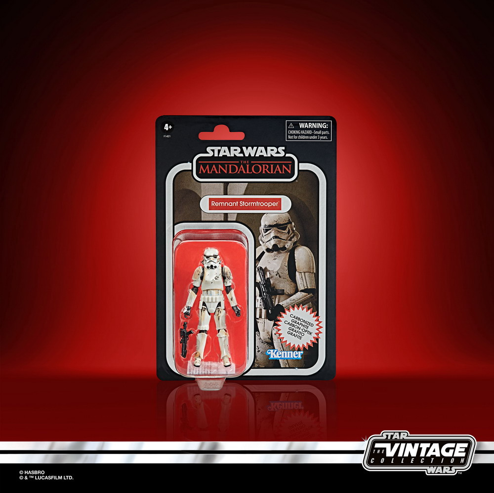STAR WARS THE VINTAGE COLLECTION CARBONIZED COLLECTION 3.75-INCH REMNANT TROOPER - inpck