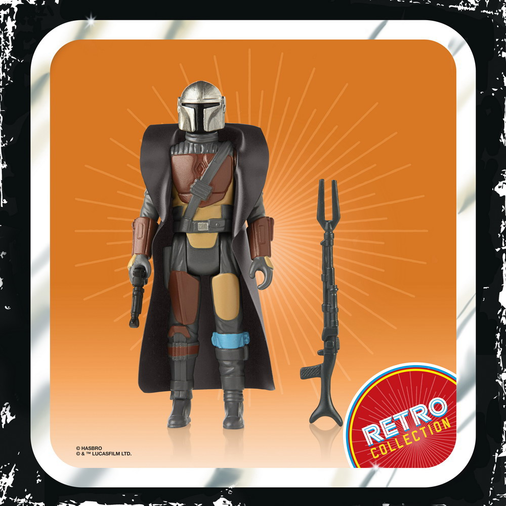 STAR WARS RETRO COLLECTION 3.75-INCH Figure Assortment - The Mandalorian (oop 1)