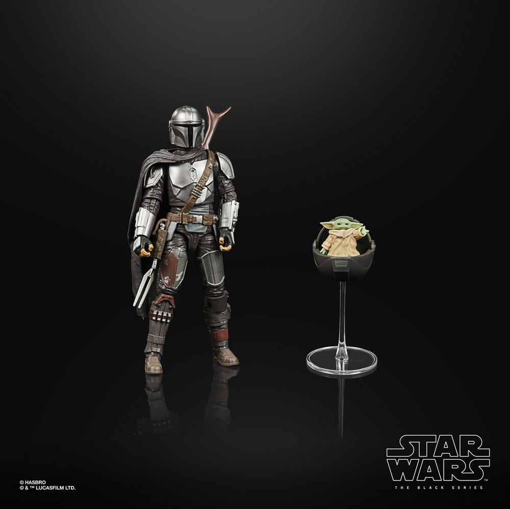 STAR WARS THE BLACK SERIES 6-INCH DIN DJARIN (THE MANDALORIAN) & THE CHILD BUILD-UP PACK - oop (3)
