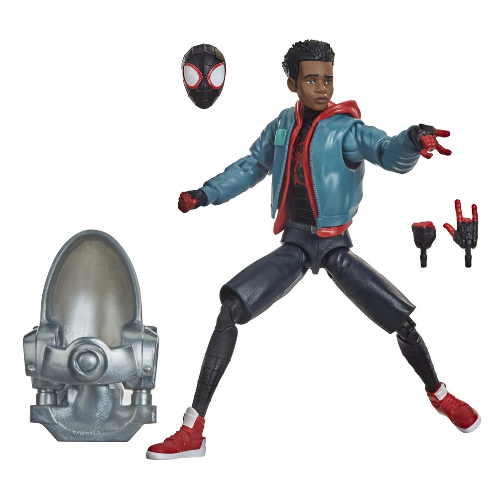 MARVEL LEGENDS SERIES SPIDER-MAN INTO THE SPIDER-VERSE 6-INCH MILES MORALES Figure - oop