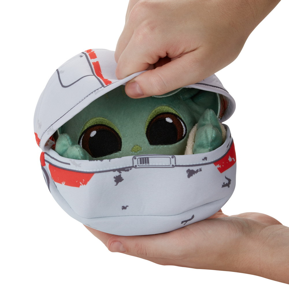 STAR WARS THE BOUNTY COLLECTION THE CHILD HIDEAWAY HOVER-PRAM PLUSH - oop (10)
