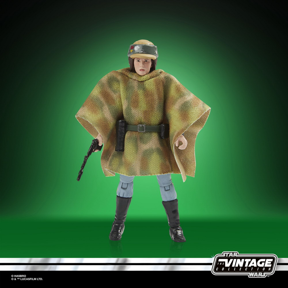 STAR WARS THE VINTAGE COLLECTION LUCASFILM FIRST 50 YEARS 3.75-INCH PRINCESS LEIA (ENDOR) Figure - oop (3)