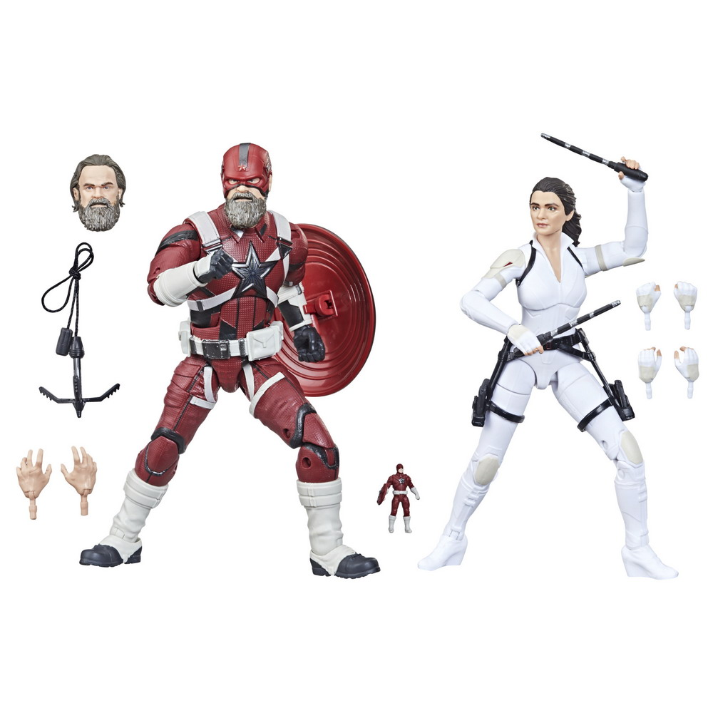 MARVEL LEGENDS SERIES 6-INCH RED GUARDIAN AND MELINA VOSTOKOFF Figure 2-Pack - oop (1)