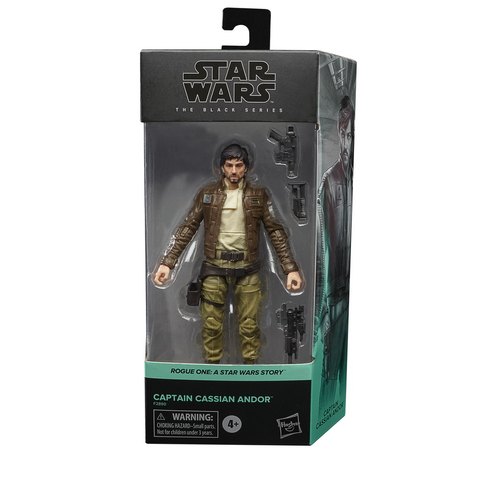 STAR WARS THE BLACK SERIES 6-INCH CAPTAIN CASSIAN ANDOR Figure - in pck (2)