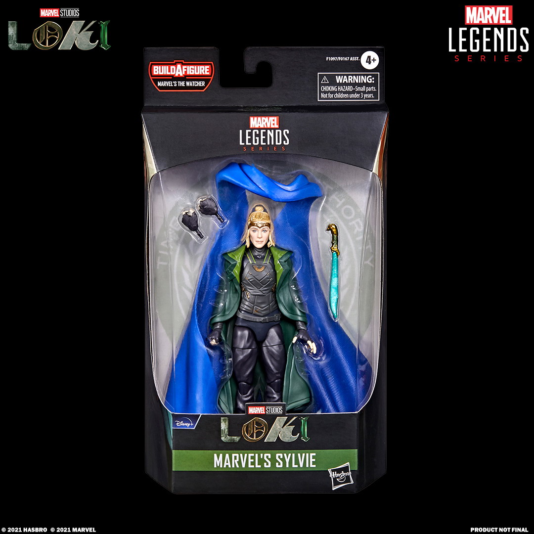MARVEL LEGENDS SERIES 6-INCH MARVEL'S SYLVIE Figure_in pck with logo