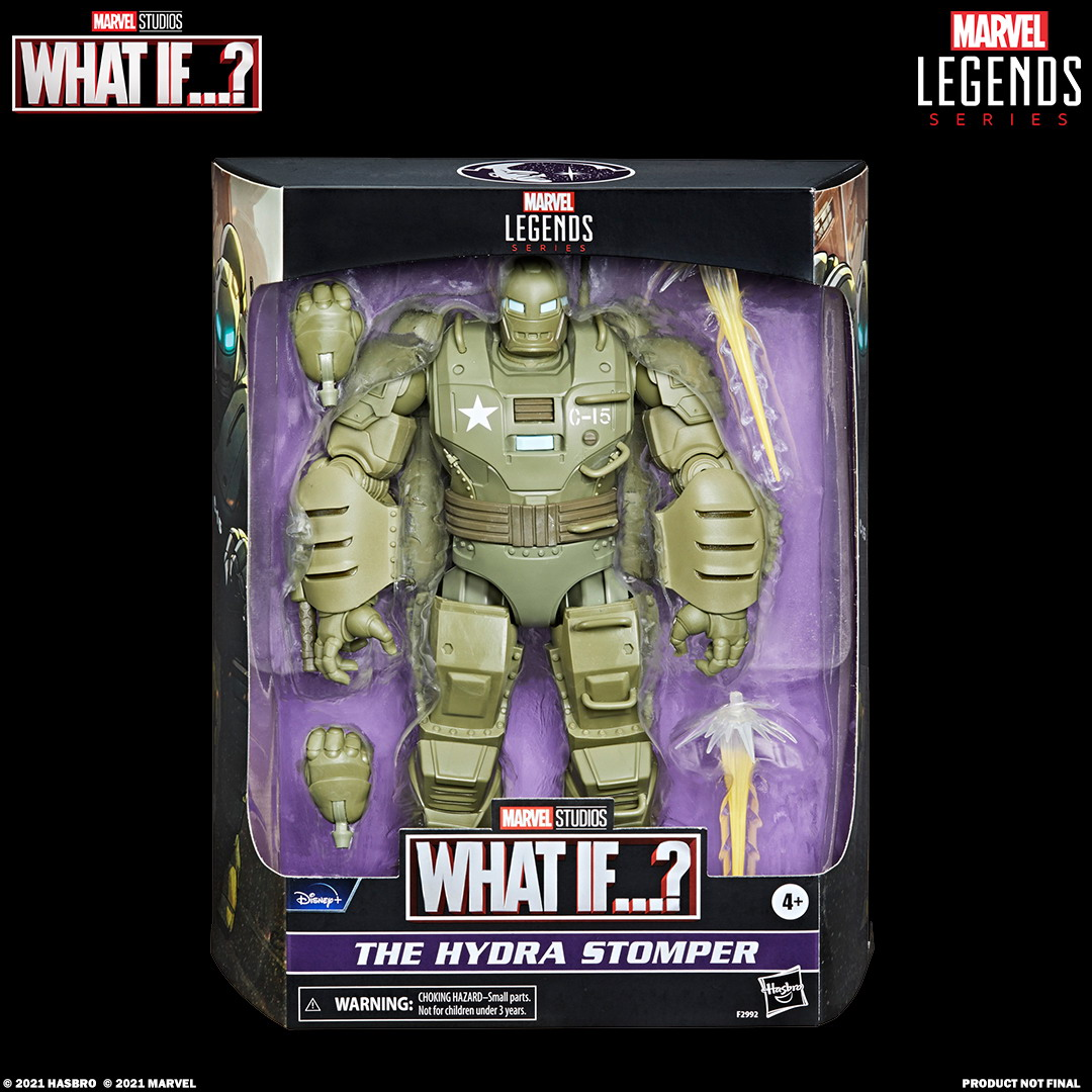 MARVEL LEGENDS SERIES 6-INCH THE HYDRA STOMPER Figure_in pck with logo
